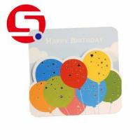 Buy cheap 5x7 Printable foldable birthday card from wholesalers