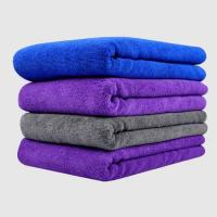 Buy cheap Car Microfiber Cleaning Cloth fast dry microfiber hair wrap turban towel from wholesalers