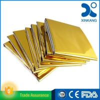 Buy cheap Basic Surgical Dressings Product name: Gold-Silver emergency rescue blanket product