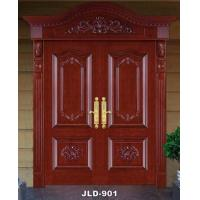 Carved wood paint doors JLD-901