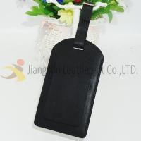 Leather Accessory Black PU Leather Luggage Tag on Travel's card holder