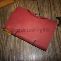Buy cheap Leather Notebook Wholesale Personalised Leather Notebook Gift with Button from wholesalers