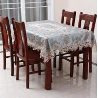 Buy cheap Blended Fabric Table Cloth Dining Room Table Covers from wholesalers