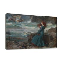 Buy cheap Vintage Wall Decor Replicate Oil Painting Miranda-The Tempest Print On Canvas from wholesalers