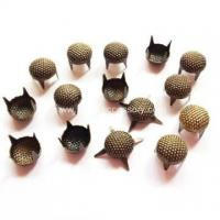 Buy cheap Antique Brass Nailheads, Seeded Round Dome Studs product