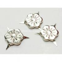 Buy cheap 3 Prongs Flower Shaped Nailheads for Leather Work product