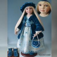 Buy cheap Doll Sort 28 inch New Design Vinyl Stand Country Girl Doll For Sale from wholesalers