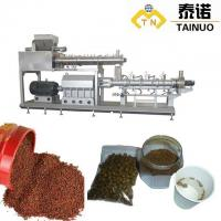 Buy cheap Pet Food Production Line Fish Food Pellet Making Machine from wholesalers