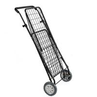 Buy cheap Folding Shopping trolley cart with Swivel Wheels / Grocery Cart with High Adjustable Handle product