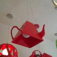 Buy cheap Modern resin teapot hanging pendant lamp acrylic resin material for indoor living room from wholesalers