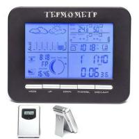 Buy cheap Wireless Weather Station Alarm Clock With Barometer/ Temperature&Humidity Transmitters from wholesalers