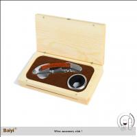 Buy cheap Portable Quick Pulling Custom Wine Opener Gift Set from wholesalers