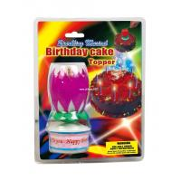 Buy cheap STAGE FIREWORKS BIRTHDAY CAKE TOPPER from wholesalers