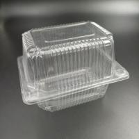 Buy cheap Plastic packaging box container clamshell for cake from wholesalers