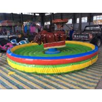 Buy cheap Thrilling Rides Inflatable Rodeo Bull from wholesalers