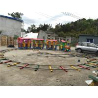 Buy cheap Electric Train Playground Rides Christmas Track Train from wholesalers