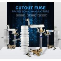 Buy cheap Fuse Cutout Made in china 15kv 100a superior expulsion porcelain thermal dropout fuse cutout from wholesalers