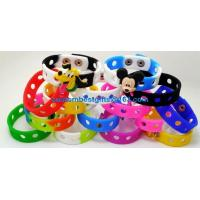 Buy cheap cheap price debossed or embossed silicone bracelts, silicone wristband from wholesalers