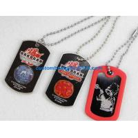 Buy cheap Promotional gifts custom made dog tag, metal dog tag,blank dog tag from wholesalers