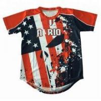 Buy cheap Custom Dry fit Sublimation Baseball Wear Unisex Baseball jersey from wholesalers