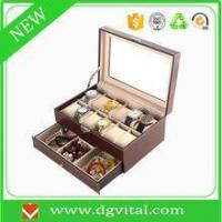 Buy cheap Cheap Faux leather square valet cash money coin tray C29 from wholesalers