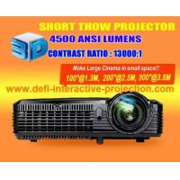 Buy cheap 4500 lumen Overhead 3D short thow projector from wholesalers