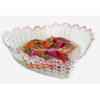 Buy cheap Crochet Basket, Decorative Vase from wholesalers