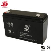 Buy cheap kanglida battery manufacturer 6v 12ah lead acid battery from wholesalers