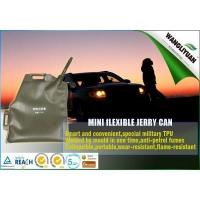 Flexible gasoline oil jerry can