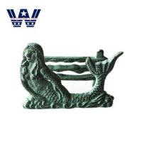Buy cheap Decoration Cast Iron Metal Mermaid Letter Rack from wholesalers