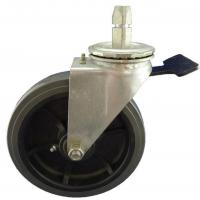 Buy cheap Heavy Duty Caster 8x2 inch industrial swivel stem caster with PU wheel from wholesalers