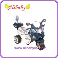 Buy cheap T00757 police toy Motorcycle for child Electric bike from wholesalers