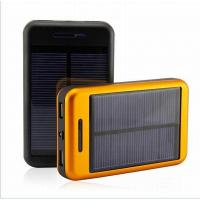 Buy cheap AWC028 Cheap Dual USB Solar Power Bank 6000mAh-11000mAh from wholesalers