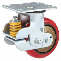 Buy cheap 280-420kg Shock Absorbing Polyurethane Wheel Caster from wholesalers