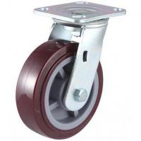 Buy cheap 280~420kg Heavy Duty Polyurethane Wheel Caster from wholesalers