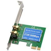 Buy cheap IEEE802.11 300Mbps 2T2R Wlan Controller Wireless PCI Express Network Adapter from wholesalers