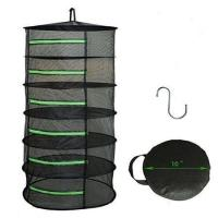 Buy cheap 8-Layer Herb Drying Rack Hanging Collapsible Mesh Dry Net Bag from wholesalers