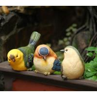 Buy cheap craft and craft Resin Cute Small Bird Figurine Ornament from wholesalers