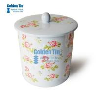 Buy cheap Lunch Tin box for Collection with Plastic handle from wholesalers
