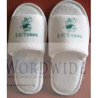 Buy cheap hotel slipper -terry towel cotton from wholesalers