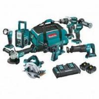 Buy cheap Makita DLX8013PT 18V 5.0Ah Li-Ion Cordless 8pce Combo Kit Including Brushless from wholesalers
