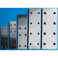 Buy cheap Lift Parts Fishplate For Machined Guide Rails & Cold Drawn Guide Rails from wholesalers