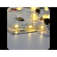 Buy cheap Holiday Lotus LED String Lights 3m30 Led Lights Lamp For Garden Party Decoration from wholesalers