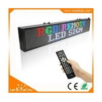 Buy cheap Exclusive designed RGB remote led sign with Multiple Text Line product