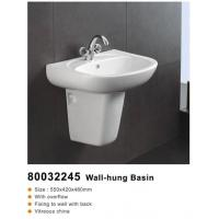 Buy cheap Polished porcelain tile Wall-hung Basin 80032245 from wholesalers