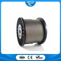 Buy cheap Stainless Steel Wire Rope 6x37+IWRC from wholesalers