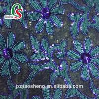 Buy cheap High Quality glitter leather with lace shoes or bags material from wholesalers