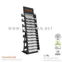 Buy cheap Ceramic Tile Stand,Quartz Stone Sample Display Tower from wholesalers