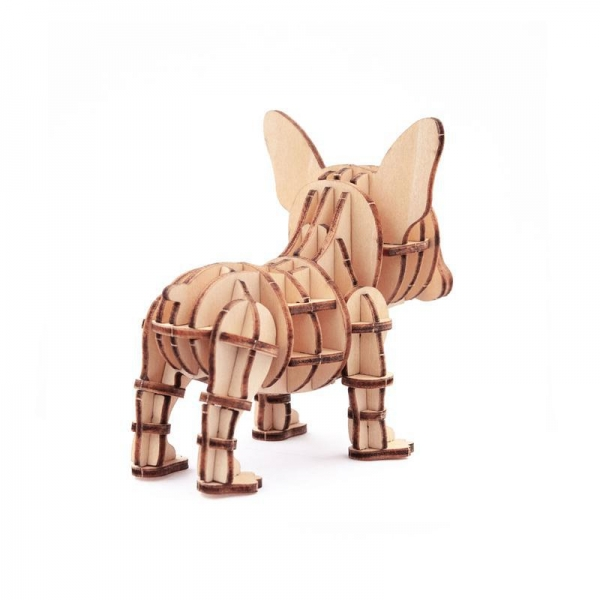Buy cheap French Bull dog 3D Puzzle from wholesalers