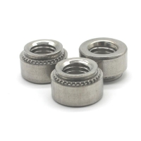 Buy cheap SS Self clinch nuts for steel plate from wholesalers